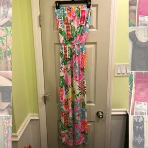 NWT LILLY PULITZER for Target Floral Maxi Dress